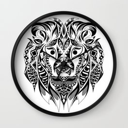 Mr Lion Ecopop Wall Clock