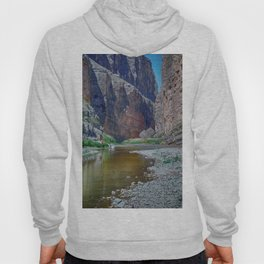Rio Grande at Santa Elena Canyon Hoody