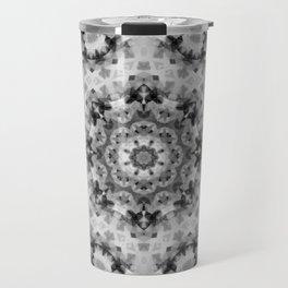 Black and white Persian carpet 1 Travel Mug
