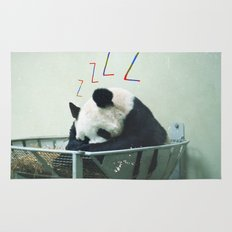 Sleepy Panda Rug