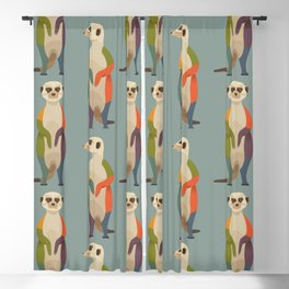 Meerkats Blackout Curtain