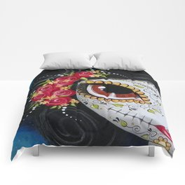Frida Day Of The Dead Comforters