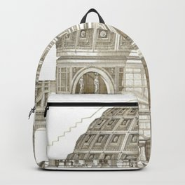 Pantheon Of Rome Backpack