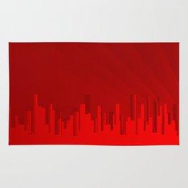 City Redscape Rug
