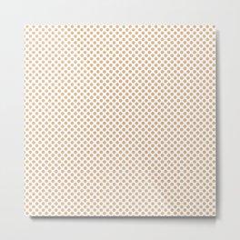 Desert Mist Polka Dots Metal Print