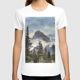 The Three Sisters - Canadian Rocky Mountains T-shirt