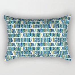 Art bookcase Rectangular Pillow
