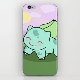 Cute Bulba  iPhone Skin