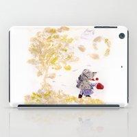 wind iPad Cases featuring Wind by MARIA BOZINA - PRINT