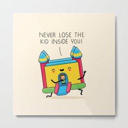 The kid inside you Metal Print