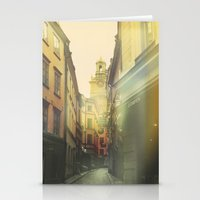stockholm Stationery Cards featuring Stockholm by Viviana Gonzalez