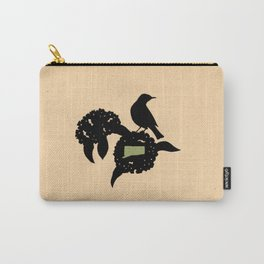 Connecticut - State Papercut Print Carry-All Pouch