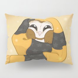 Cozy Barn Owl Pillow Sham