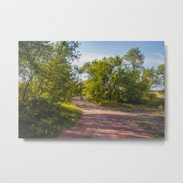 Backroad by the Knife River, North Dakota 2 Metal Print
