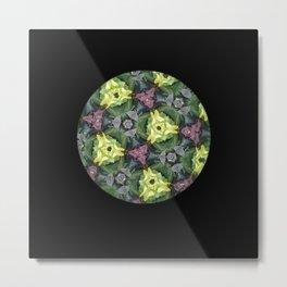 Kaleidoscopic Magic Metal Print