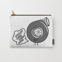 What does the turbo say? Carry-All Pouch