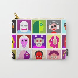 Avatars Carry-All Pouch