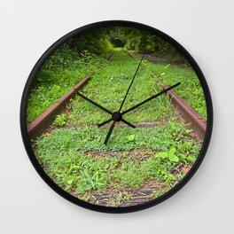Forgotten Railway Wall Clock