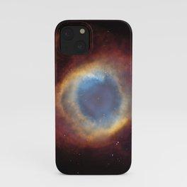 Nebula — Helix Nebula, NGC 7293 iPhone Case