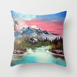 A Dream away Throw Pillow