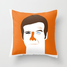 Steve Austin, the six millions dollars man Throw Pillow