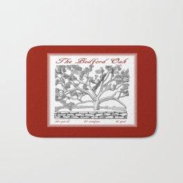 The Bedford Oak Zentangle Illustration Bath Mat