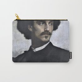 11,000px,500dpi-Anselm Feuerbach - Self Portrait - Digital Remastered Edition Carry-All Pouch