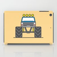 bigfoot iPad Cases featuring #5 Bigfoot by Brownjames Prints