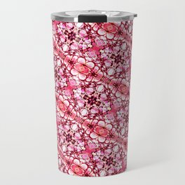 30 degree pink & red Travel Mug