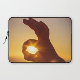 Everything's OK in the Summer Laptop Sleeve