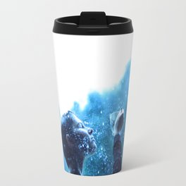 In love with the rain Travel Mug