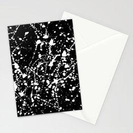 Splat Black Stationery Cards