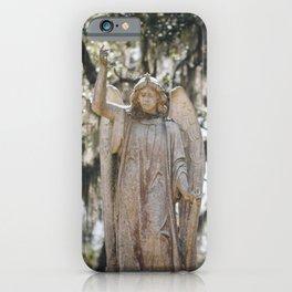 Bonaventure Cemetery Angel iPhone Case