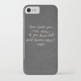 Nietzsche on Rising Anew iPhone Case