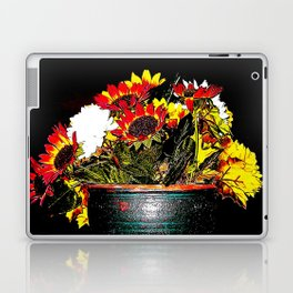 A Pretense Pot of Fabled Flowers  Laptop & iPad Skin