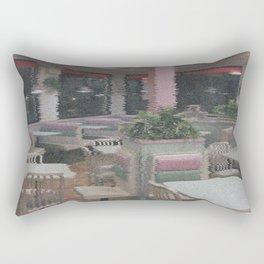 F O O O D ~ C O U R T Rectangular Pillow