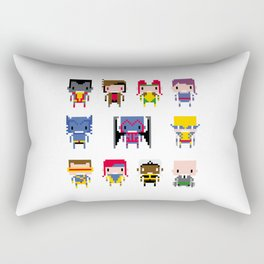Pixel X-Men Rectangular Pillow