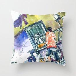 20160827-3 Soto on Jl Kepodang Throw Pillow