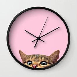 Bye Cat! Wall Clock