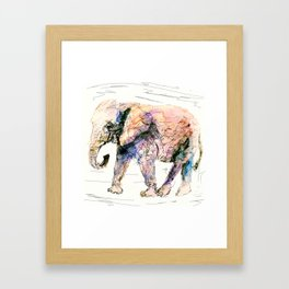 elephant queen - the whole truth Framed Art Print