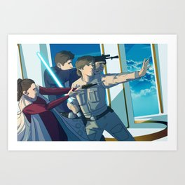 Cloud City Art Print