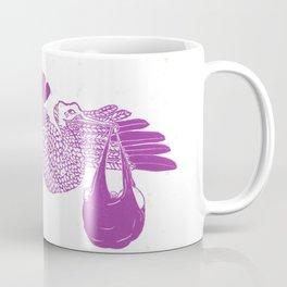 The Stork in pink Coffee Mug