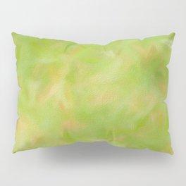 Green texture pattern. Pillow Sham