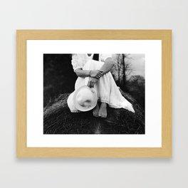 then  Framed Art Print