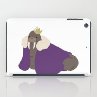 walrus iPad Cases featuring Walrus by Blue