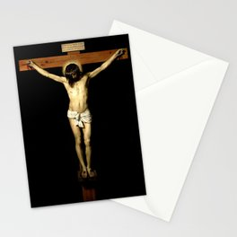 picture of Jesus  III – Velasquez -Christ Crucified 1632 - Stationery Cards
