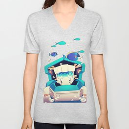 Underwater Unisex V-Neck