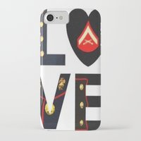 marine iPhone & iPod Cases featuring Marine  by cchelle135