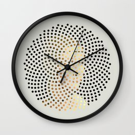 Optical Illusions - Famous Work of Art 5 Wall Clock