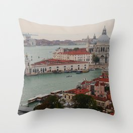 Venice view from the Campanile of San Marco Throw Pillow